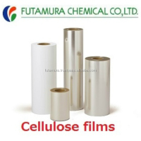High quality and Hi-security peelable lid film cellulose film with multiple functions made in Japan
