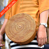 High Quality Rattan Round Bag Leather Strap with Low MOQ Mix Order Accepted