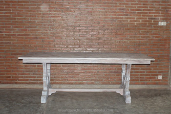 Reclaimed Furniture - FV 23 Dining Table - Indonesia Furniture