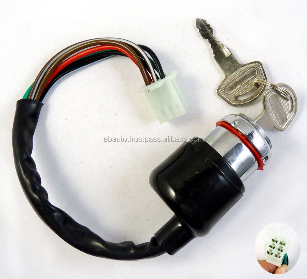 DHS001 New Ignition Switch Cylinder For CKazuma Falcon Roketa ATV 90cc 110cc 125cc *USA Supplier*