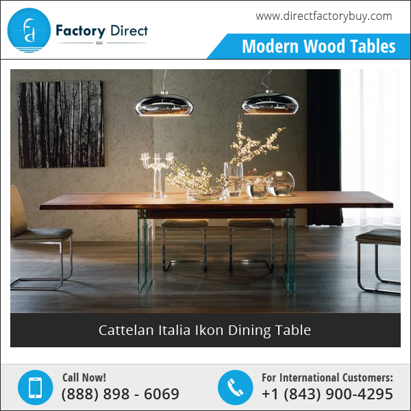 Cattelan Italia Ikon Dining Table - Made in Italy