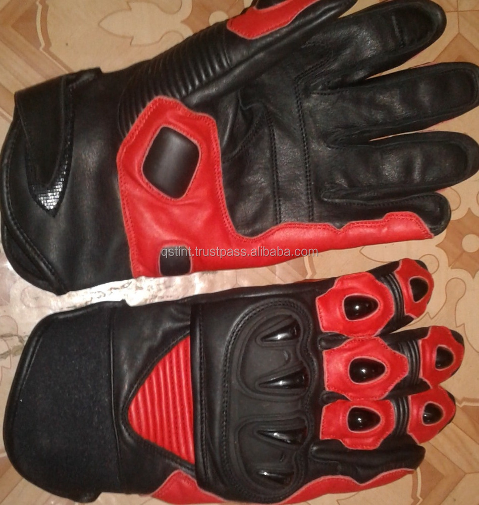 NEW STREET RIDING MOTORCYCLE LEATHER CYCLING GLOVES SIZE M L XL