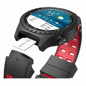 GSM card GPS Sport watch with pedometer call IP68 waterproof and weather anti-lost