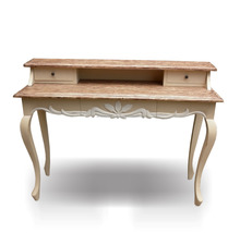 Classic French furniture jepara indonesia Writing desk painted.