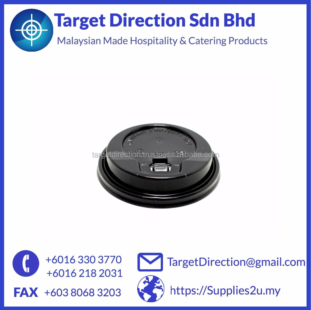 Hot Cup Lid- With Closure Lid Stopper Lid Malaysia Low MOQ