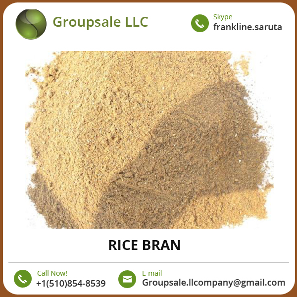 Excellent Quality High Protein Content Rice Bran for Cattle and Poultry Feed