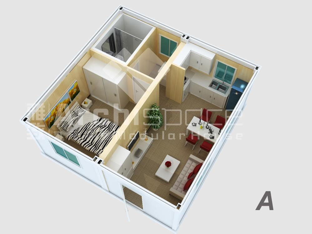 prefabricated rooms with CYMB high quality industrial building plans flat house