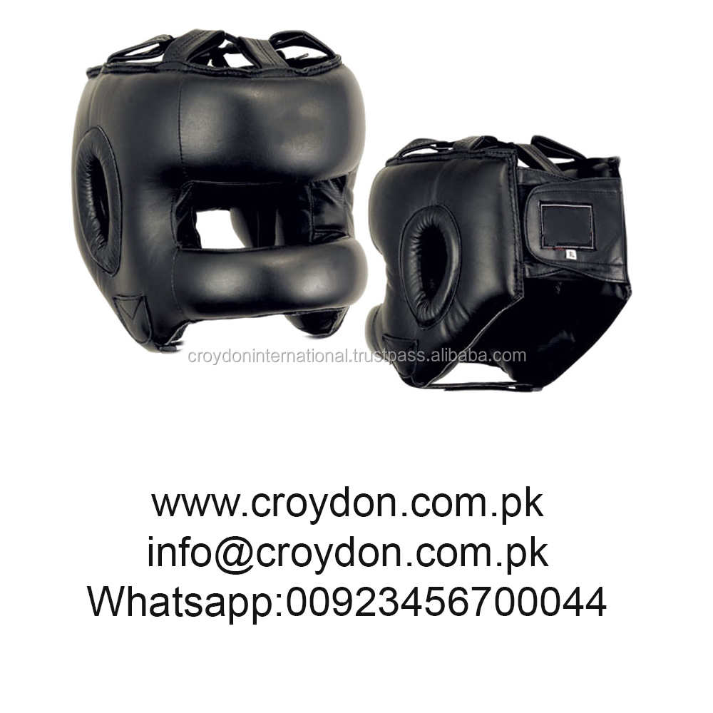 Sports equipment boxing head guards