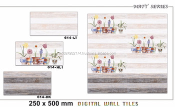 foshan brand living room wall ceramic tile cheap price 250x500 V-614