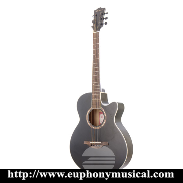 HELICON Acoustic Guitar HGW-200CBK (40inch)
