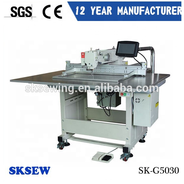 Sokee garment template pattern program industrial sewing machine for cushion