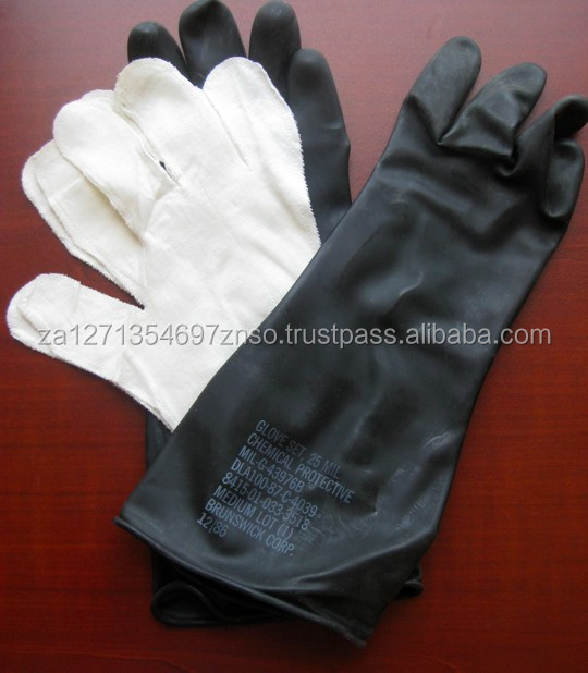Cut resistant rubber gloves/Protective Gloves,waterproof leather gloves