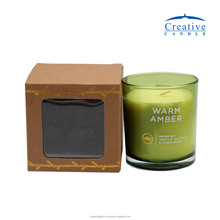 8 oz glass votive in a box - - vietnam candle manufacturer