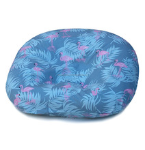 New Born Printed Baby Lounger Polyester Filling Baby Pillow