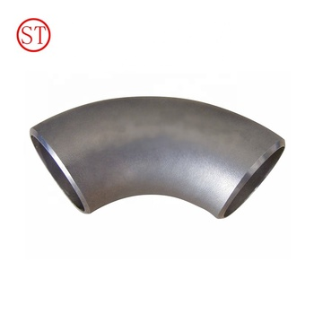 sch40 sch80 LR SR seamless pipe fitting elbow