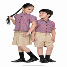 High Quality New Model School Uniform for children