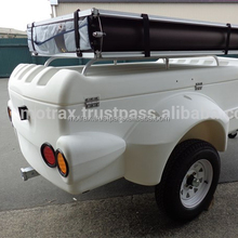 High quality luggage trailer camping or drive travel trailer with car
