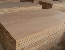 High grade two times hot press furniture plywood 12x1220x2440 mm