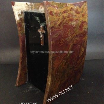Red Onyx Urns for Ashes Rectangle ,Square Urny in Cheap Price