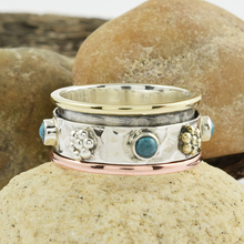 Turquoise jewelry gemstone silver handmade ring wholesale 925 sterling silver ring jewelry high polish ring