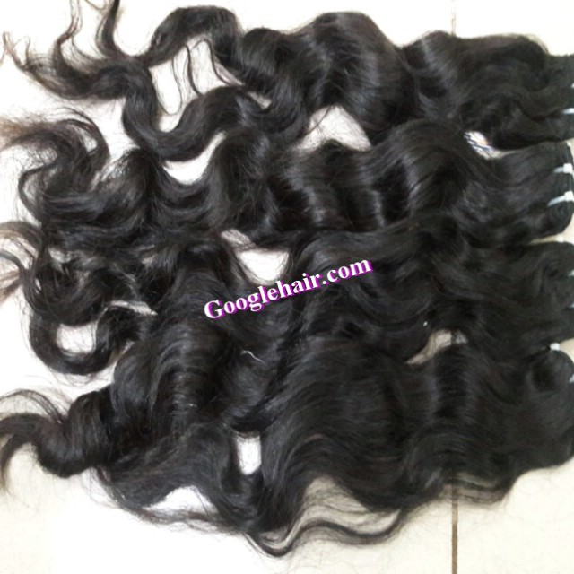 Shopping Online Vietnamese Human Hair High Quality No lice, no nits, free tangle Wavy Hair Extenstions