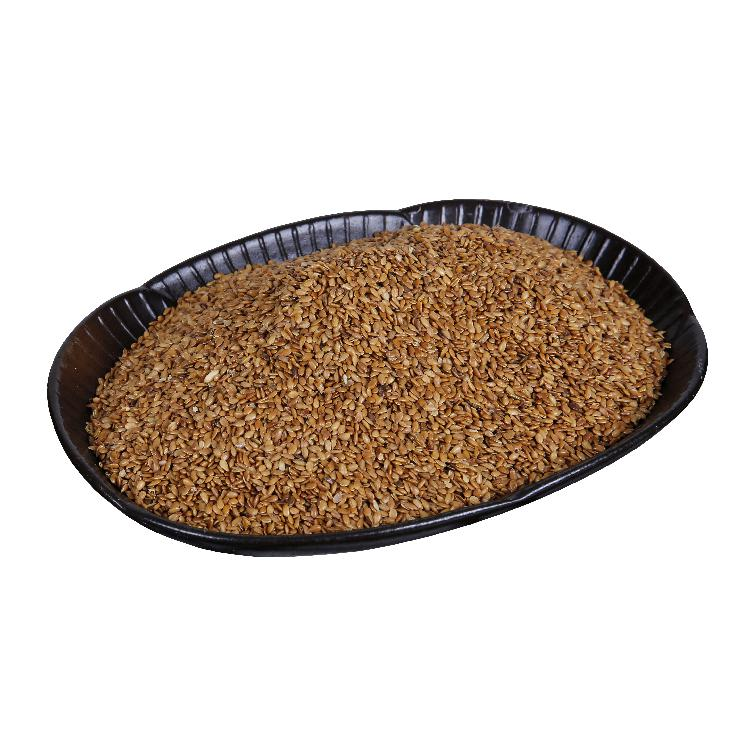 Top selling natural linseed bulk organic Roasted Golden flax seeds