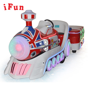amusement park shopping mall kids trackless train ride indoor for sale