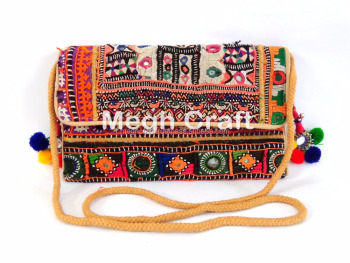 Traditional vintage Clutch Bag- Handmade clutch bags - Vintage clutch- Traditional Clutch