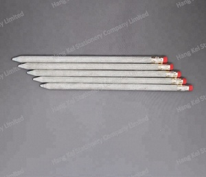 High quality Eco friendly HB graphite core OEM with eraser recycle newspaper pencil