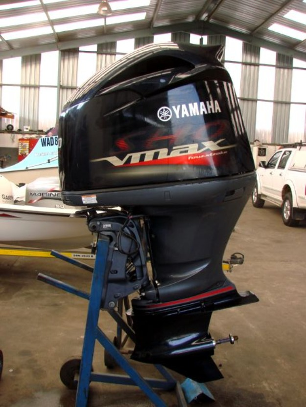 FREE SHIPPING FOR USED Yamaha vmax SHO 250HP Outboard Motor