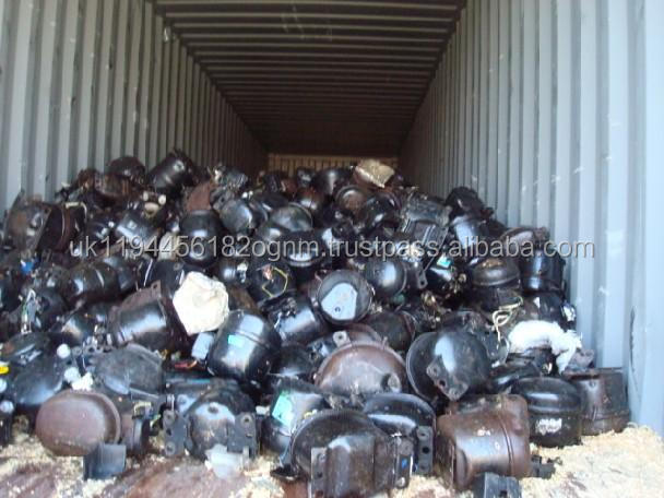 Refrigerator Compressors scrap from Europe