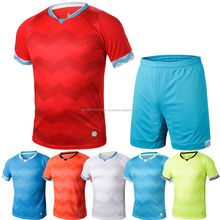 Hot Sale discount football uniforms soccer sports jerseys