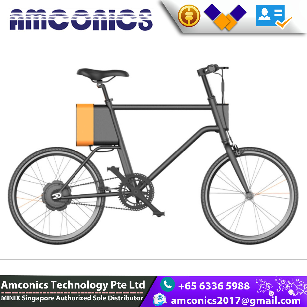 New Speed High Quality Amconics Folding electric bicycle with motor and lithium battery