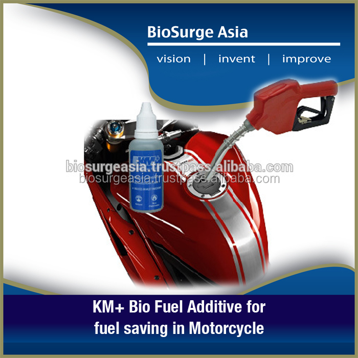 KM+ Bio Fuel Additive for fuel saving in Motorcycle