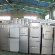 Different types of used Japanese refrigerators shipped in container