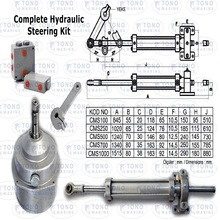 Boat Steering Hydraulic Cylinder and Helm Pump Set
