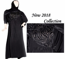 2018 Good Quality Newest Models Abaya Muslim Long Dress Designs Latest Women Dubai Abaya Wholesale