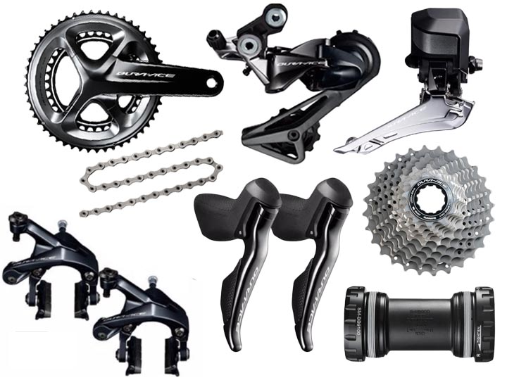 Super Deal for Shimano Dura-Ace 9150 Di2 11 Speed Groupset 2017