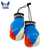 get your customized country flag printed Boxing Gloves Boxing key chain boxing key rings