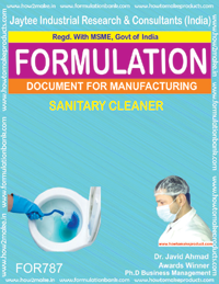 Formula document for Sanitary Cleaner