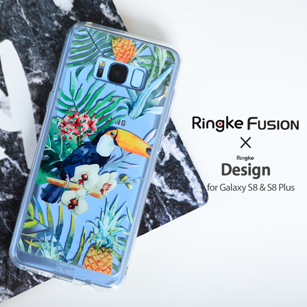 [Ringke] Ringke Fusion Design - Smart Phone Case for Galaxy S8 S8+