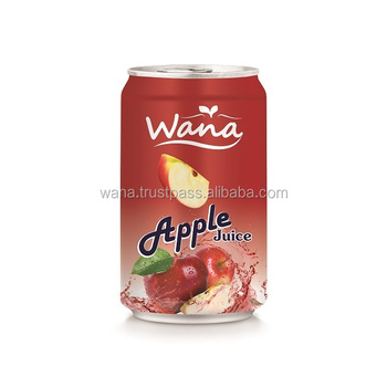 330ML CANNED PURE WANA APPLE JUICE IN CAN