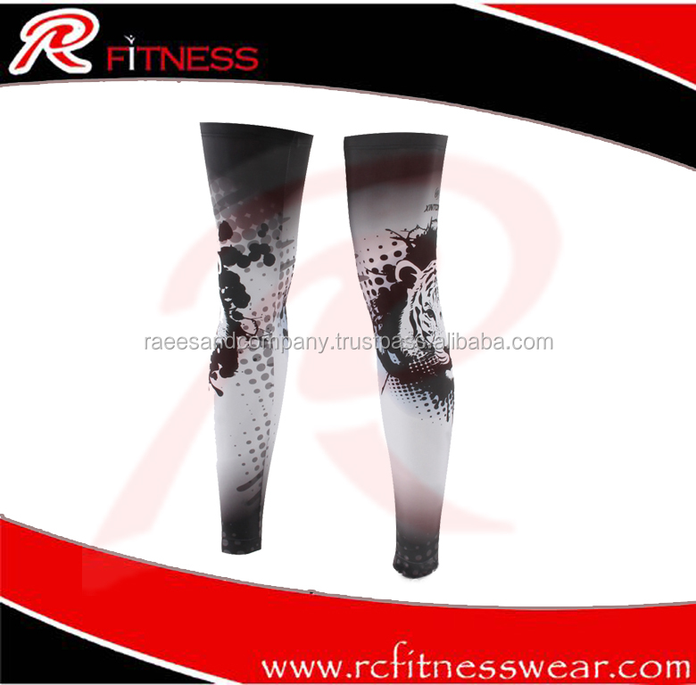 2017 Best Selling High Quality Compression Rubber Knee Sleeves Wholesalers