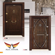Exterior Cheap Stainless Steel Security Doors Design