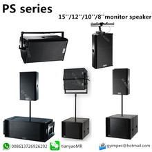 PS15 PS12 PS10 PS8 speakers. loudspeaker stage monitor 15 inch speaker