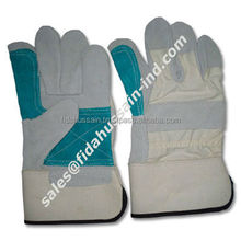 Double Palm Cowhide Split Leather Work Gloves / 707 Canadian Rigger Double Palm Work Gloves