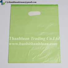 Vietnam CHEAPEST HDPE, PE die cut plastic shopping bag