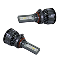 Car Lights 4800lm DC 9-30V Super Slim fan 9005 H7 H11 Bulbs Auto Car LED Headlight