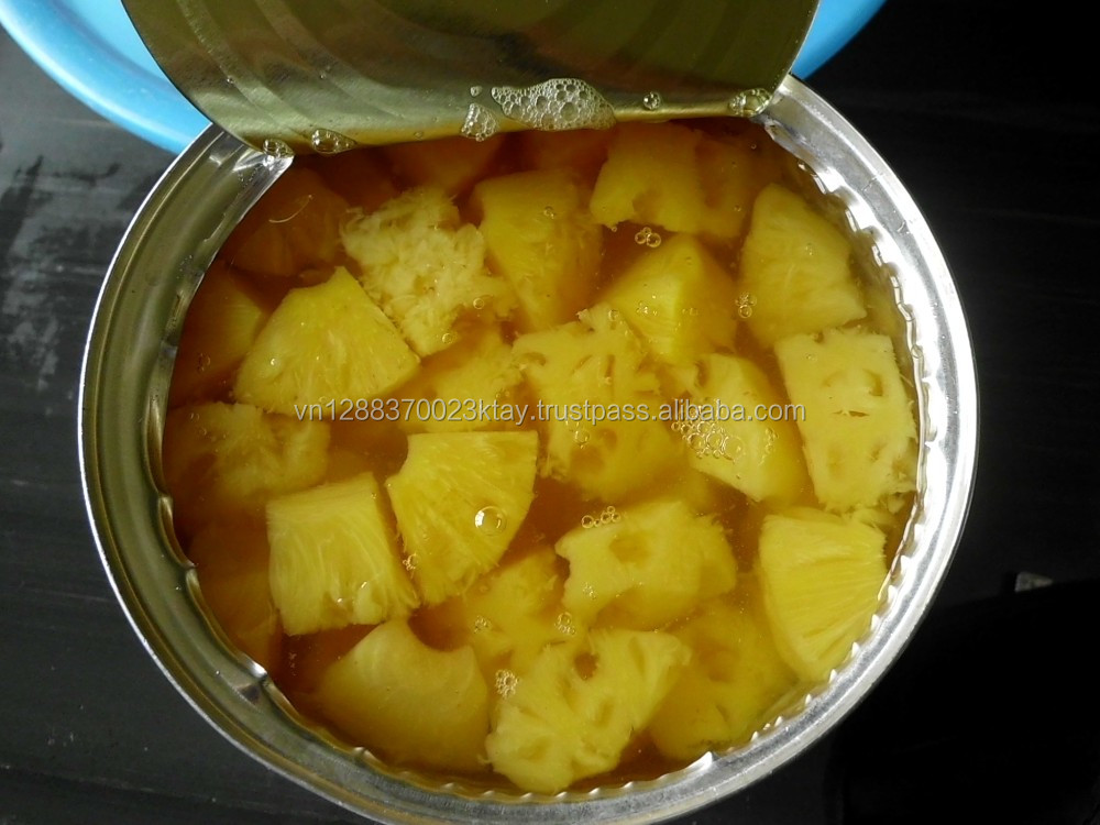 Canned Slices Pineapple With Market Price Whole Bulk Sale