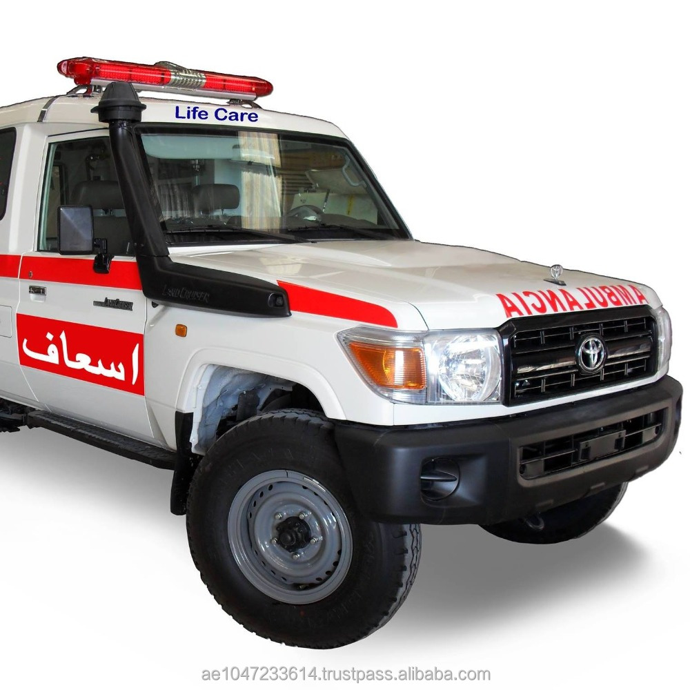 Toyota Hard Top 4x4 Ambulance